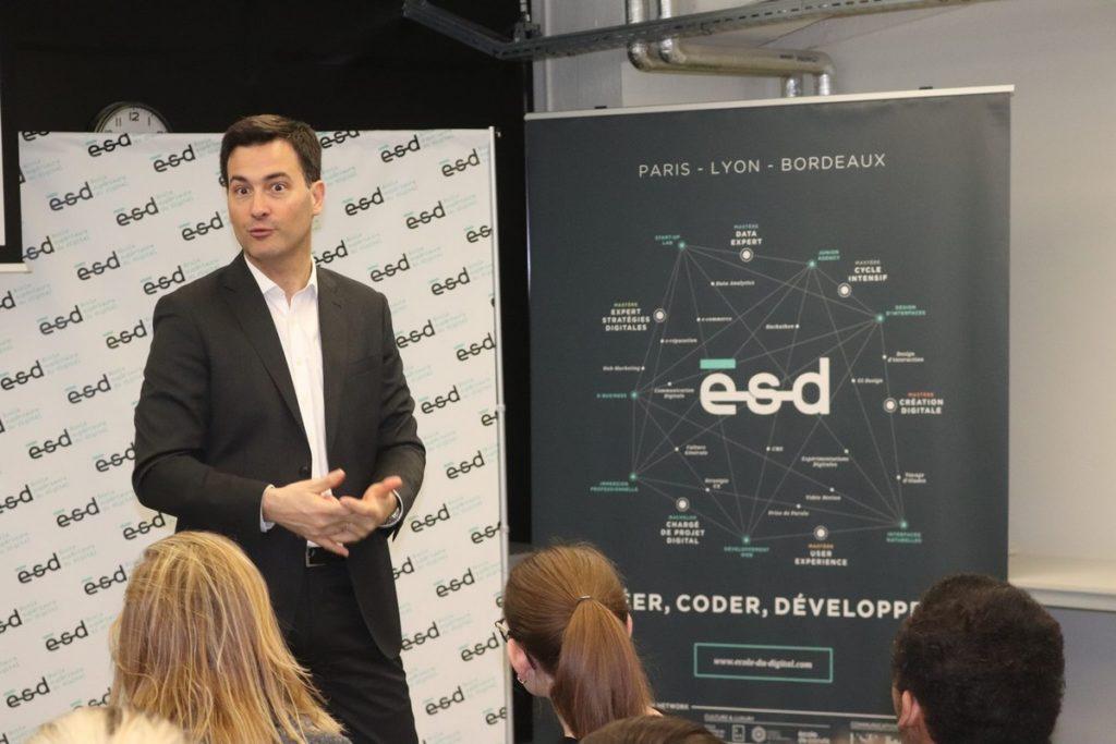 Intervenant de l'École Supérieure du Digital | ESD Lyon